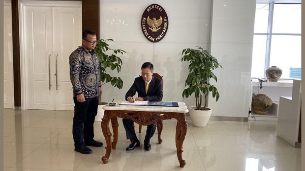 越南与印尼共同深化水产养殖和加工业合作 hinh anh 2