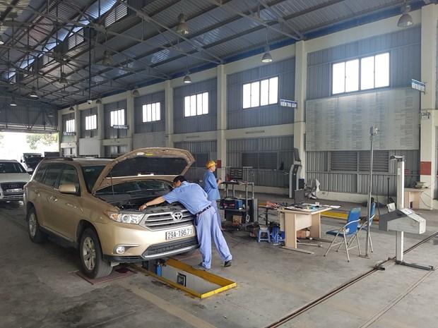 截至2020年1月越南有1.6万辆车使用年限到期 hinh anh 1