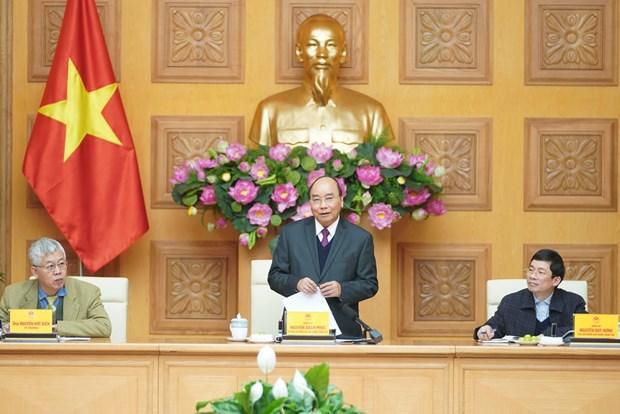 阮春福:政府总理经济顾问小组应积极向政府总理提供参谋 在世界变幻莫测的情况下促进越南经济快速增长 hinh anh 1