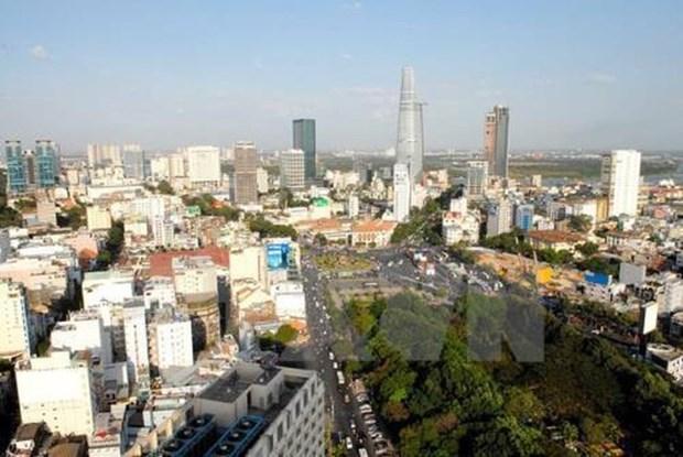 胡志明市建议世行协助建设国际金融中心 hinh anh 1