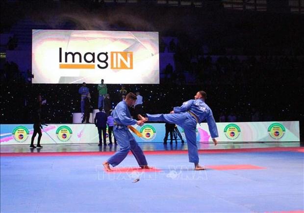 第17届阿尔及利亚全国越武道锦标赛吸引近300名学员参加 hinh anh 1