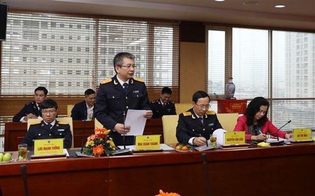 2020年越南海关部门将加大打击走私、贸易欺诈工作力度 hinh anh 2