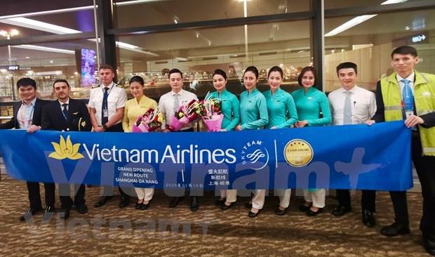 越航开通岘港至中国上海直达航线 hinh anh 2