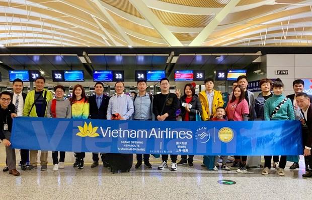 越航开通岘港至中国上海直达航线 hinh anh 1