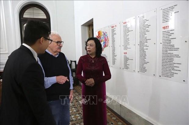 阿根廷共产党总书记:越南共产党所取得的胜利对世界革命运动和进步带来极大的鼓舞 hinh anh 1