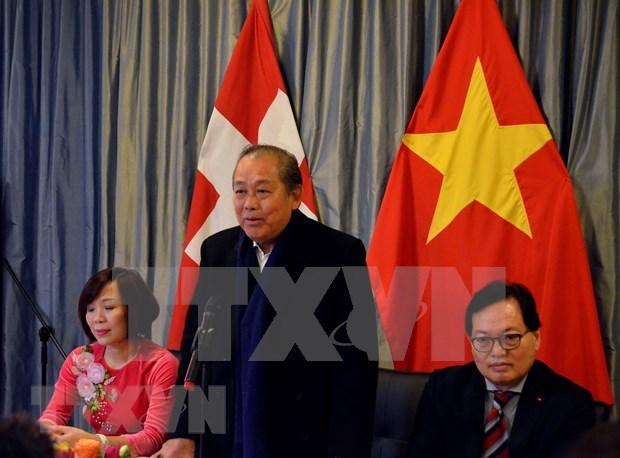 张和平在第50届世界经济论坛年会发表关于东盟的讲话 hinh anh 1