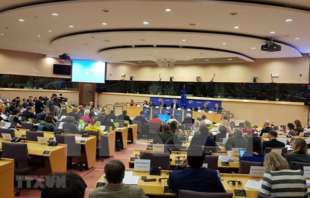 """德国媒体:欧洲议会国际贸易委员会为EVFTA开""""绿灯"""" hinh anh 1"""