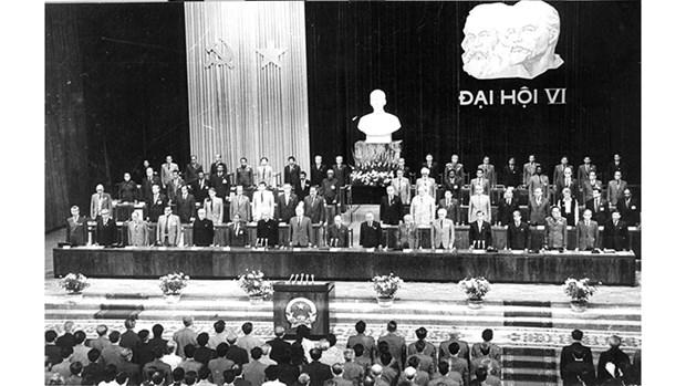 越南共产党的辉煌征程:党的第六次全国代表大会 hinh anh 1