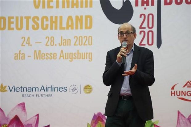 德国越南展览会在德国奥格斯堡举行 hinh anh 2