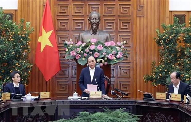 政府总理阮春福要求各部门和地方着手开展新型冠状病毒感染的肺炎疫情防控工作 hinh anh 1
