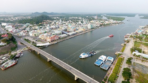 《河仙市与河仙口岸经济区总体规划》正式获批 hinh anh 1