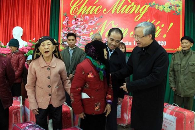 陈国旺同志出席宣光省植树节启动仪式 hinh anh 3