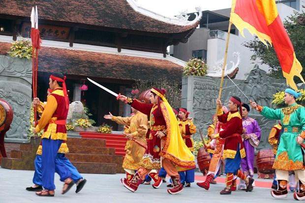 纪念玉回-栋多大捷231周年的栋多丘庙会在首都河内隆重举行 hinh anh 3
