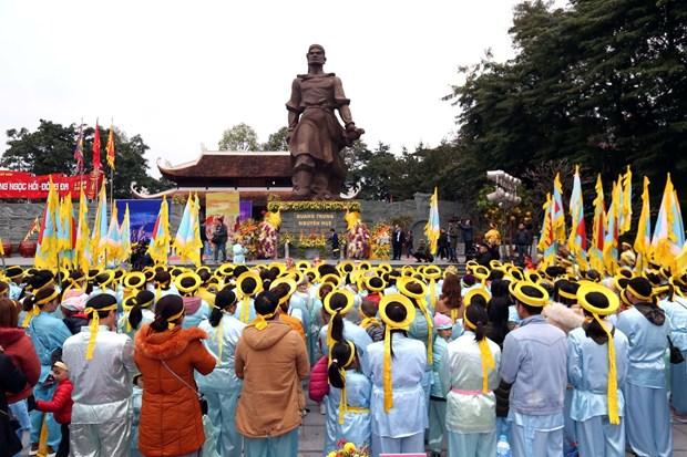 纪念玉回-栋多大捷231周年的栋多丘庙会在首都河内隆重举行 hinh anh 1
