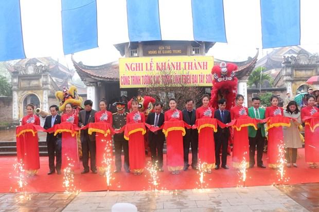 纪念玉回-栋多大捷231周年的栋多丘庙会在首都河内隆重举行 hinh anh 4