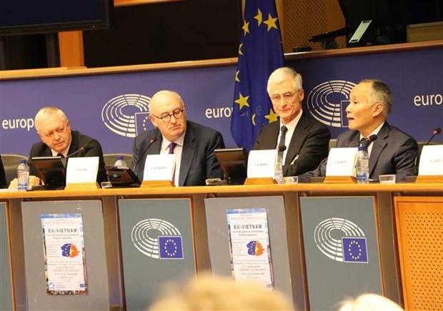 在越欧盟各组织代表:没有任何理由不批准EVFTA 和 EVIPA hinh anh 2