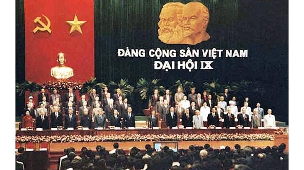 越南共产党的辉煌征程:党的第九次全国代表大会 hinh anh 1