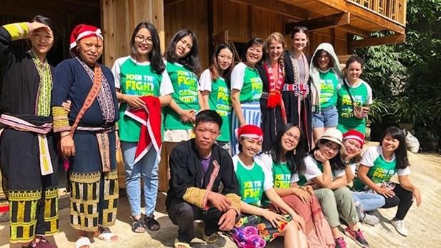 越南是澳大利亚志愿者的幸运选择 hinh anh 1