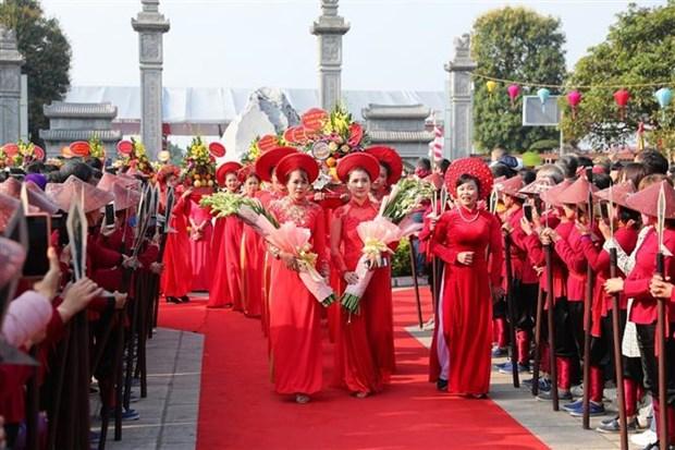 二征夫人起义1980周年纪念仪式在河内隆重举行 hinh anh 1