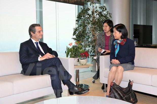 促进越南各地与意大利北部地区之间的经济合作 hinh anh 1