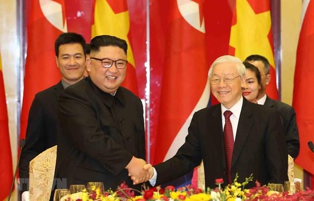 越朝建交70周年:进一步加强两国传统友好合作关系 hinh anh 1