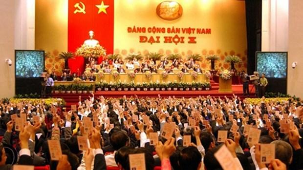 越南共产党的辉煌征程:党的第十次全国代表大会 hinh anh 1