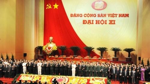 越南共产党的辉煌征程:党的第十一次全国代表大会 hinh anh 1