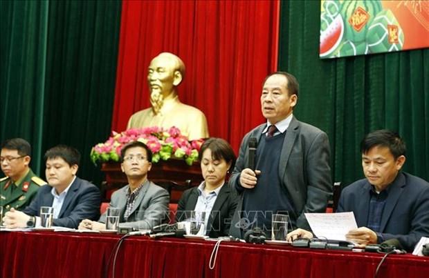 越南卫生部召开新闻发布会 通知关于新冠肺炎疫情相关信息 hinh anh 1