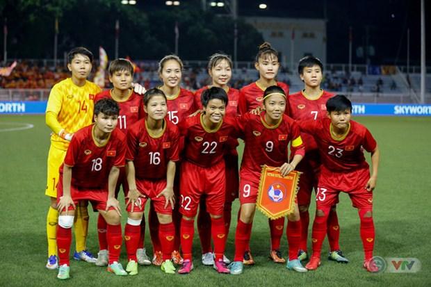 越南女足国家队赴韩国参加2020年东京奥运会女足亚洲区第三轮预选赛 hinh anh 1