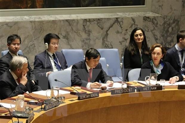 越南与联合国安理会:安理会首次就加强联合国与东盟合作问题展开讨论 hinh anh 1