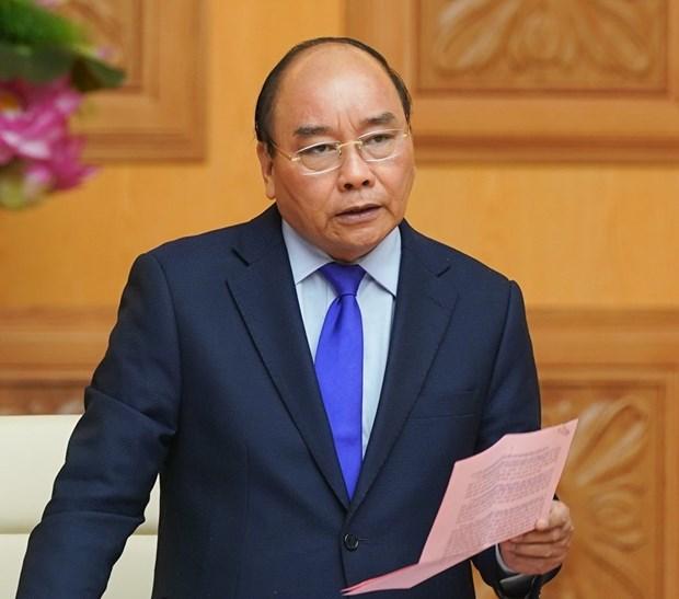越南政府总理公布新冠肺炎疫情 hinh anh 1