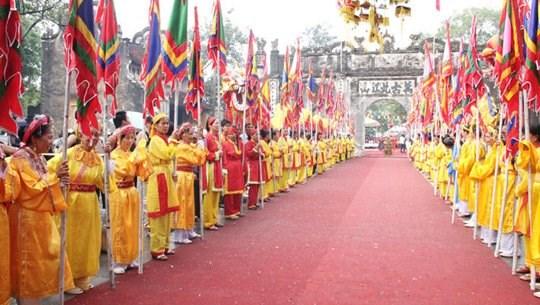 越南海阳省昆山—劫泊春季庙会将于2月3日至16日举行 hinh anh 1