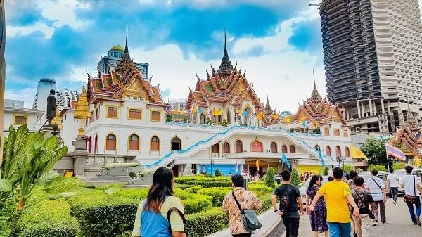 泰国旅游业因新型冠状病毒感染的肺炎疫情遭受损失 hinh anh 1