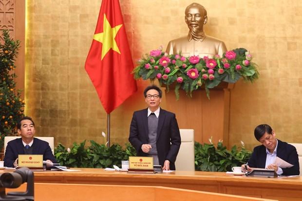 越南政府副总理武德儋:实现信息透明化 动用人民群众参与疫情防控工作 hinh anh 1