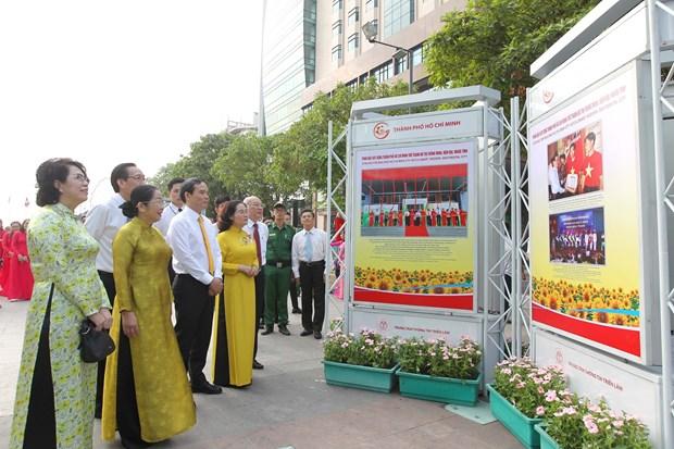 建党90周年:越南共产党——永不磨灭的信心 hinh anh 1