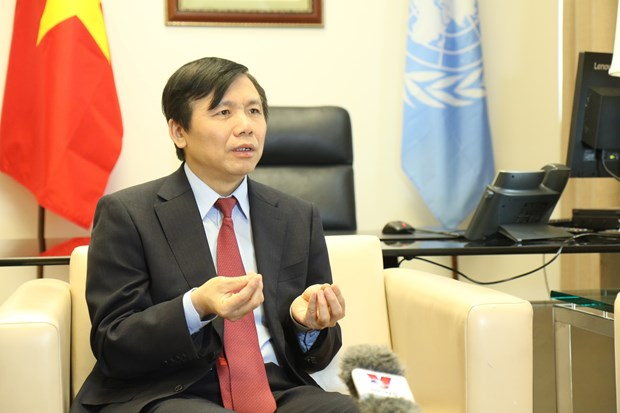 越南与联合国安理会:越南已经完成安理会1月轮值主席国任期内想要做的事情 hinh anh 1