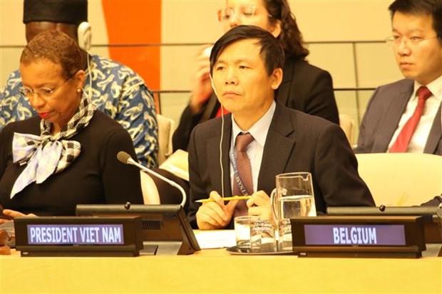 越南与联合国:越南成功担任2020年1月联合国安理会主席 hinh anh 1