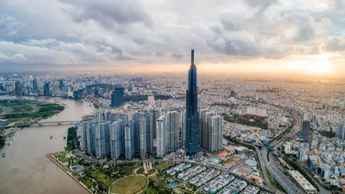 Landmark 81正式成为越南第一高楼 hinh anh 1