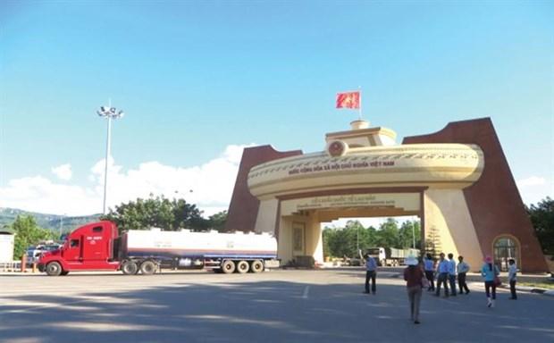 新型冠状病毒感染肺炎疫情:老挝加强边境口岸的监管措施 hinh anh 1