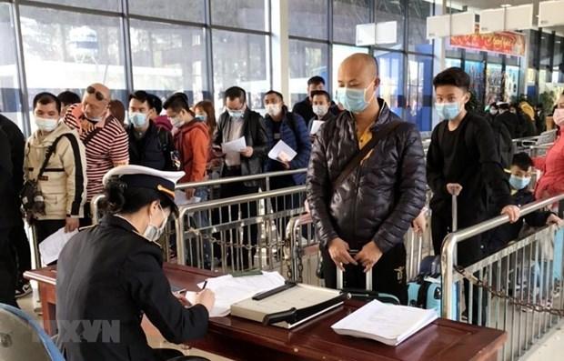 新型冠状病毒感染肺炎疫情:暂停接受回国过春节后返回越南的中国劳动者 hinh anh 1
