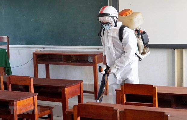 新冠肺炎疫情:截止2月3日下午越南全国共有43个省市的学校停课 hinh anh 1