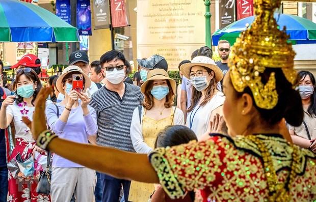 新型冠状病毒感染肺炎疫情使泰国旅游业遭受严重影响 hinh anh 1