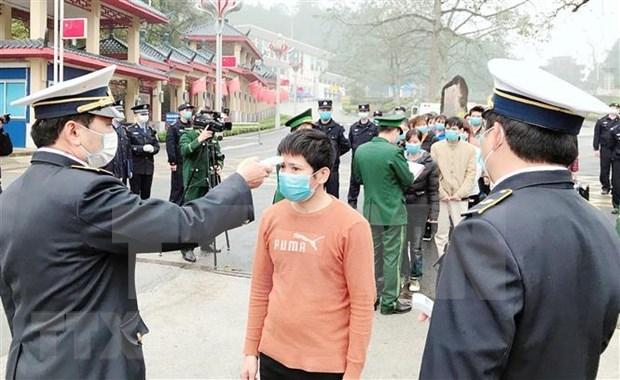 2月3日起对中国入境越南的所有入境人员进行卫生检测和为期14天的医学隔离观察 hinh anh 1