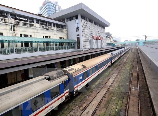 新型冠状病毒感染肺炎疫情:越南暂停与中国的铁路客运服务 hinh anh 1