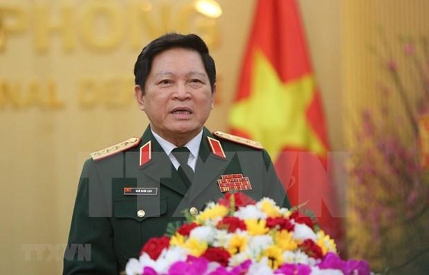 越南高级军事代表团对俄罗斯联邦进行正式访问 hinh anh 1
