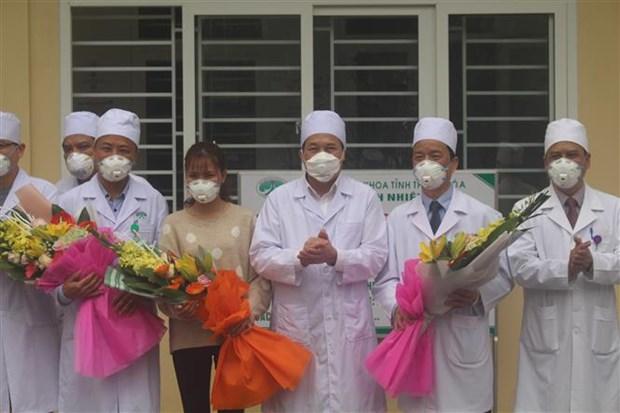 越南清化省综合医院成功治愈首例新型冠状病毒感染的肺炎患者 hinh anh 1