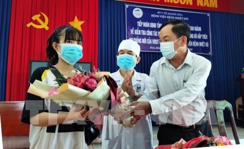 庆和省成为越南第三个地方成功治疗新型冠状病毒肺炎 hinh anh 1