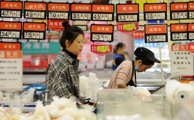 印尼因新型冠状病毒感染肺炎疫情暂停从中国进口食品 hinh anh 1