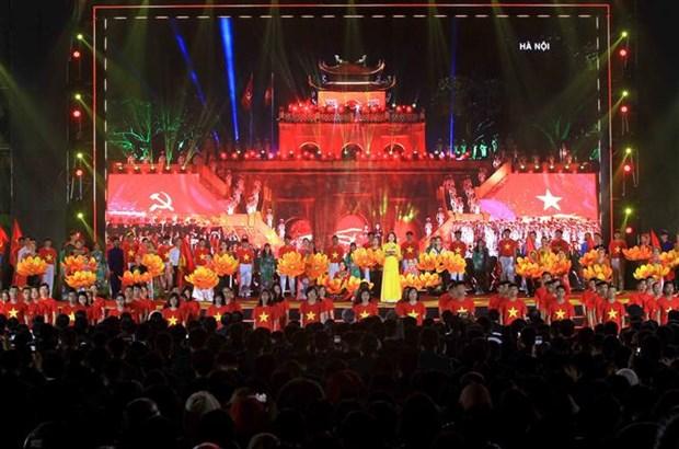"""越南共产党建党90周年:电视直播分会场""""信心之光"""" hinh anh 1"""