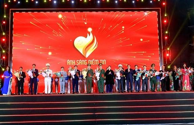 """越南共产党建党90周年:电视直播分会场""""信心之光"""" hinh anh 2"""
